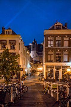 Kijk op de Stille Rijn in Leiden von Richard Steenvoorden