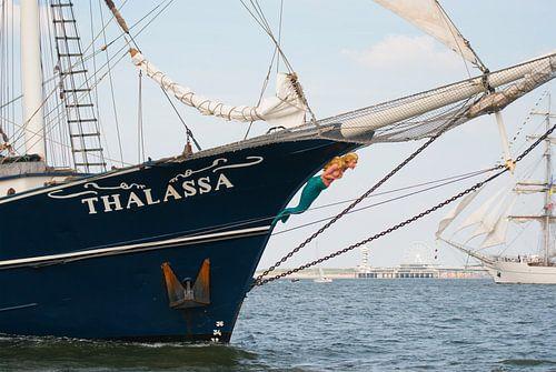 Thalassa Tall Ship voor Scheveningen