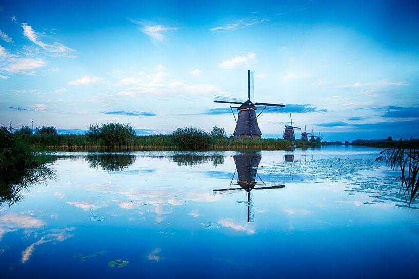 Kinderdijk Dutch Windmill van Sander Monster