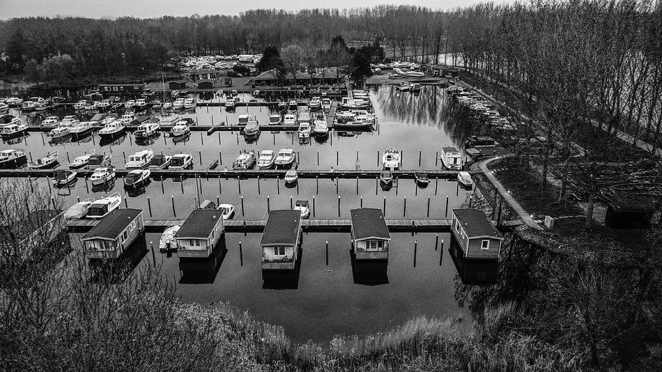 Uitzicht op Haddock Watersport van Arjan Schalken