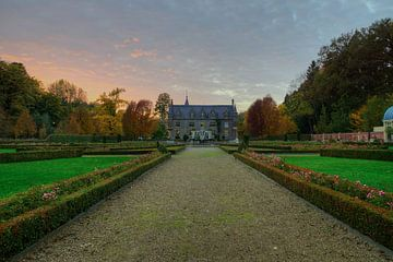 Zonsondergang landgoed terworm 2 van Francois Debets