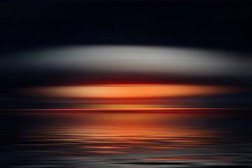 Mitternacht am Meer van Markus Wegner