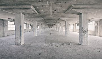 Verlaten plekken: Sphinx fabriek Maastricht Eiffelgebouw hal. sur Olaf Kramer