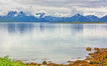 Die Berge von Hinnøya von Gisela Scheffbuch