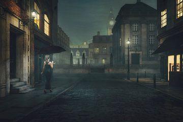 Parapluie du Vieux Londres