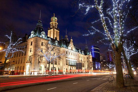 City hall Rotterdam van Claire Droppert