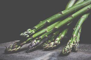 Groene asperge van