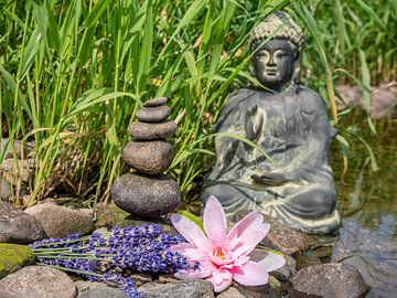 Körper Geist Seele Ruhe Auszeit Hintergrund van Animaflora PicsStock