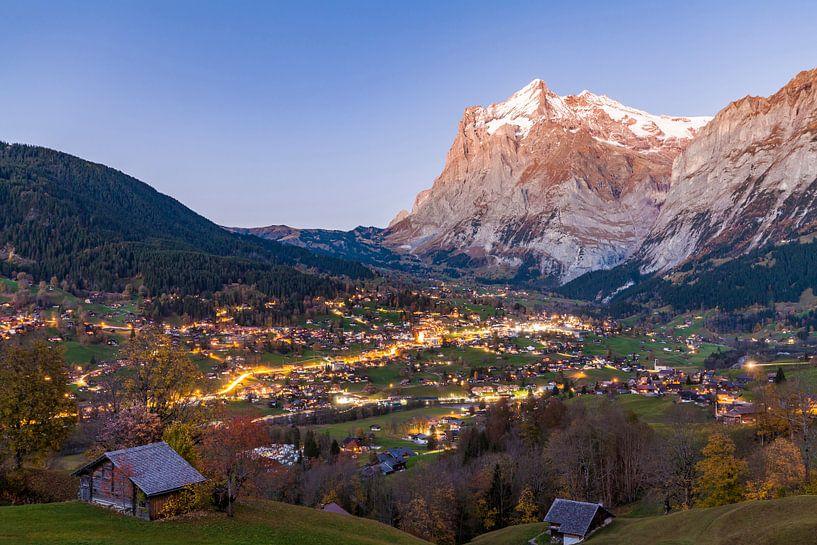 Grindelwald in Zwitserland van Werner Dieterich