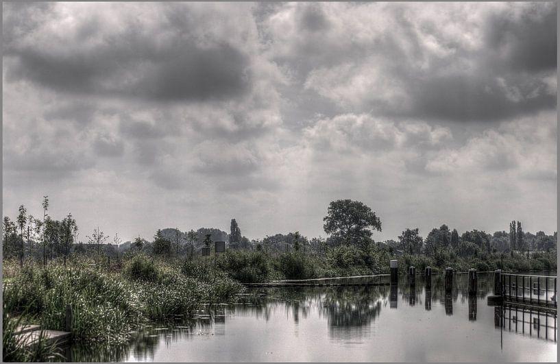 Doetinchem/Gaanderen; de Oude IJssel bij sluis de Pol van Edwin Hunter