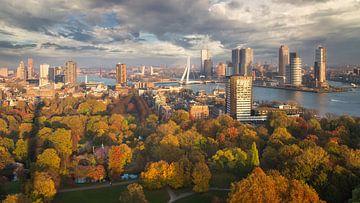 Autumn in Rotterdam sur Edwin Mooijaart