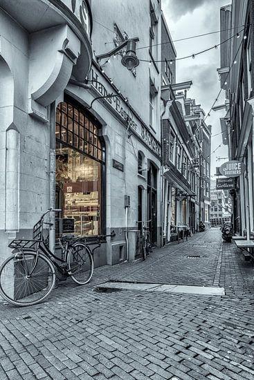 Steegje Amsterdam van BD Art