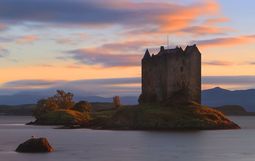 Stalker Castle Scotland van Henk Meijer Photography