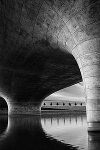 Waalbrug bij Spiegelwaal