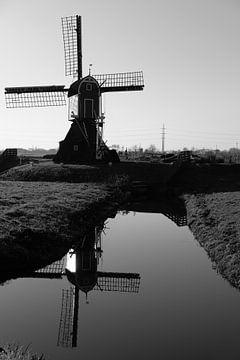 Spiegel der Mühle von Hans Louwers