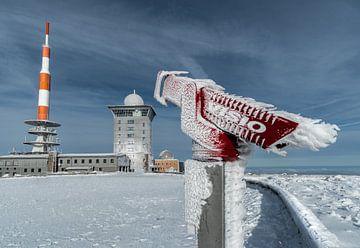prachtig uitzicht op de Brocken van Marc-Sven Kirsch