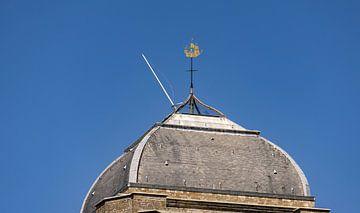 Windwijzer op Grote Kerk Veere van Percy's fotografie