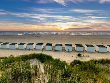 Strandhuisjes Paal 28 Texel von Texel360Fotografie Richard Heerschap