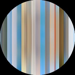 Kleurenpalet van de Provincie Friesland in Nederland van Reina Nederland in kleur
