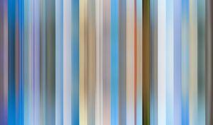 Palette de couleurs de la province de Friesland aux Pays-Bas