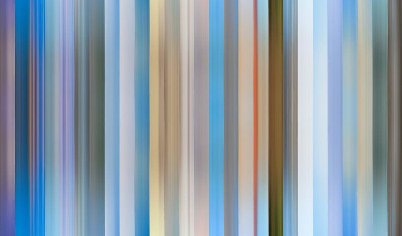 Palette de couleurs de la province de Friesland aux Pays-Bas sur Reina Nederland in kleur