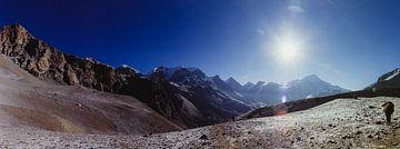 On the road to Thorung La Pass | Nepal van Vandaag is nu