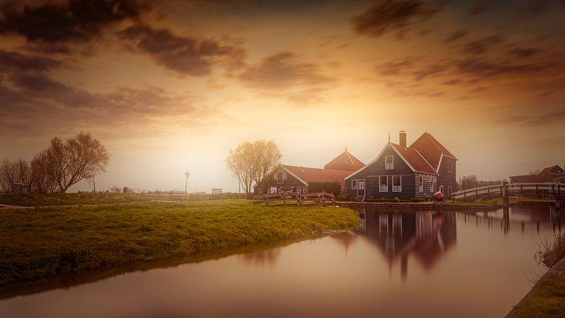 Aan den Zaan van Michael van der Burg