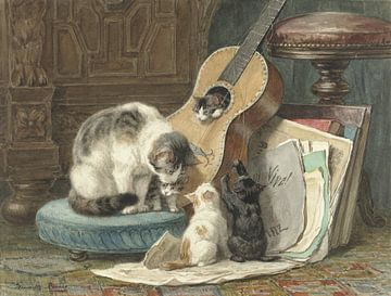 The Musicians, Henriëtte Ronner sur