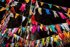 Feest in de tempel, Cambodja