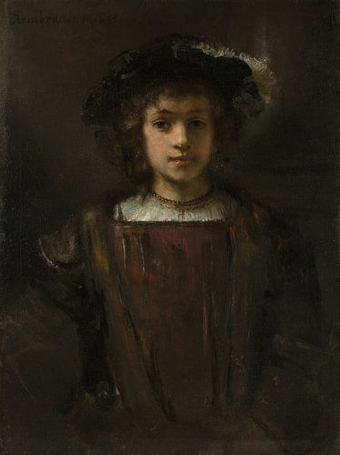 Rembrandts zoon Titus (1641-1668), de stijl van Rembrandt van Meesterlijcke Meesters