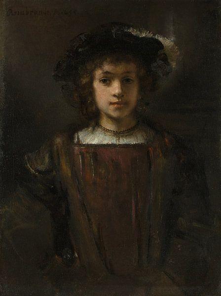 Rembrandts zoon Titus (1641-1668), de stijl van Rembrandt