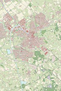 Kaart vanAlmelo