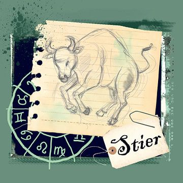 Stier von Studio Zes