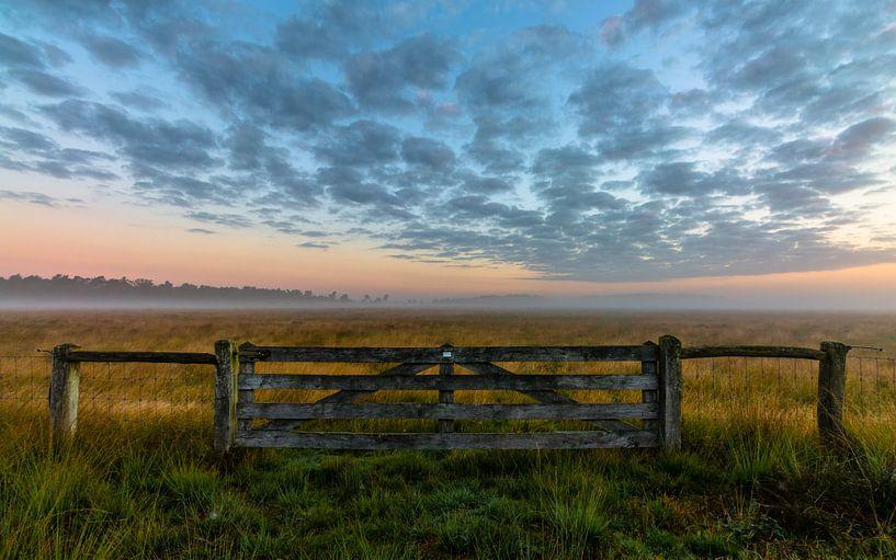 Misty Morning Gate van William Mevissen