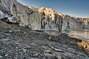 Le glacier Esmarkbreen à Ymerbukta sur le Svalbard