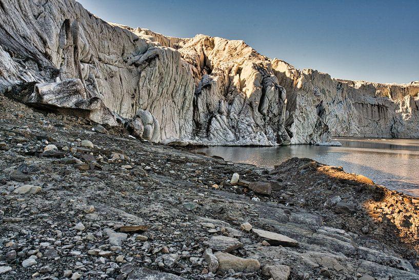 Le glacier Esmarkbreen à Ymerbukta sur le Svalbard sur Kai Müller