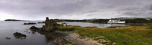 Lagavulin distillery on Islay