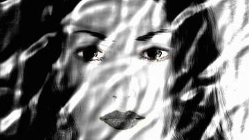 Aziatisch vrouw van Maurice Dawson