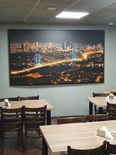 Kundenfoto: Istanbul Skyline von Roy Poots, auf leinwand