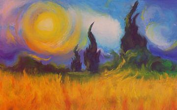 Hete velden van Angel Estevez