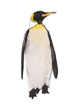 Pinguïn bijzondere vogel illustratie van Angela Peters