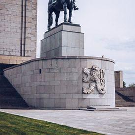 Prag – Nationaldenkmal am Veitsberg / Jan-Žižka-Statue von Alexander Voss