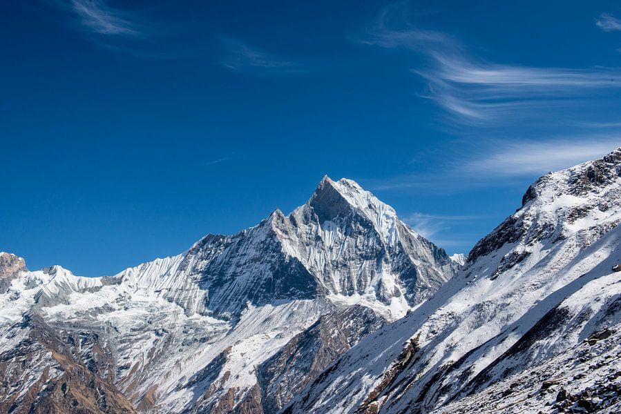 Bergen in Nepal van Ellis Peeters