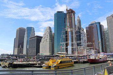 Einige Gebäude in New York von Kimberley Fennema