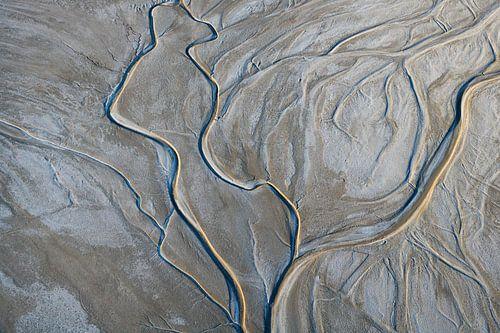 Amargosa Rivier, Californië, USA sur Marco van Middelkoop
