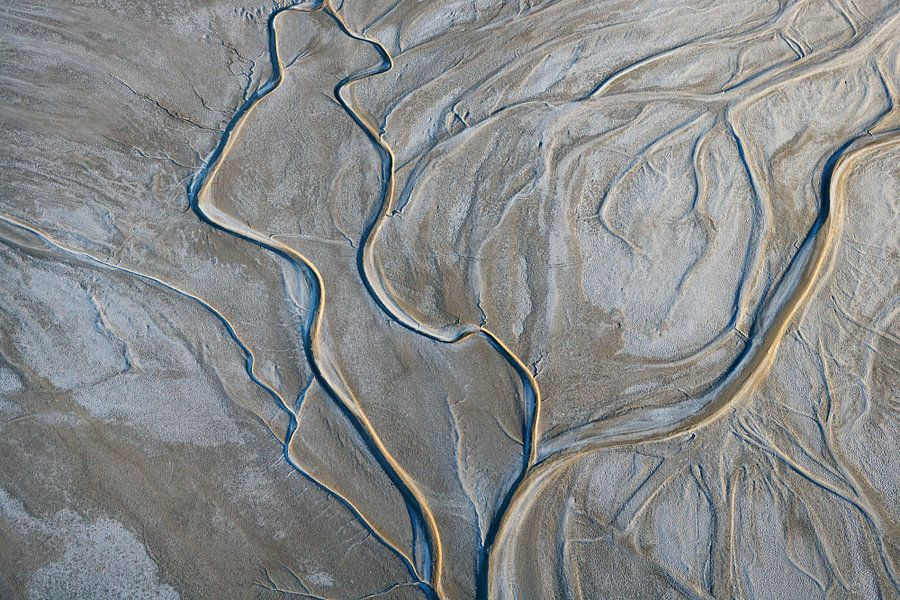 Amargosa Rivier, Californië, USA