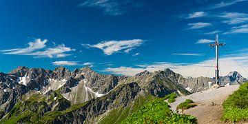 Gipfelkreuz auf dem Fellhorn von Walter G. Allgöwer