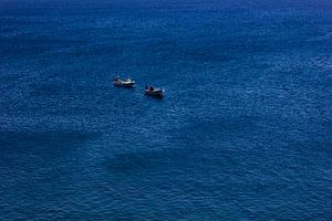 Vissers op zee