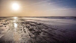 Landschap kust van