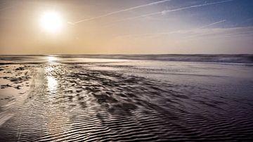 Landschap kust van peter van der pol